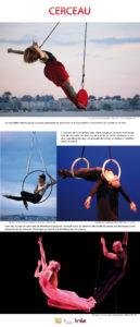 aerial dance exhibition